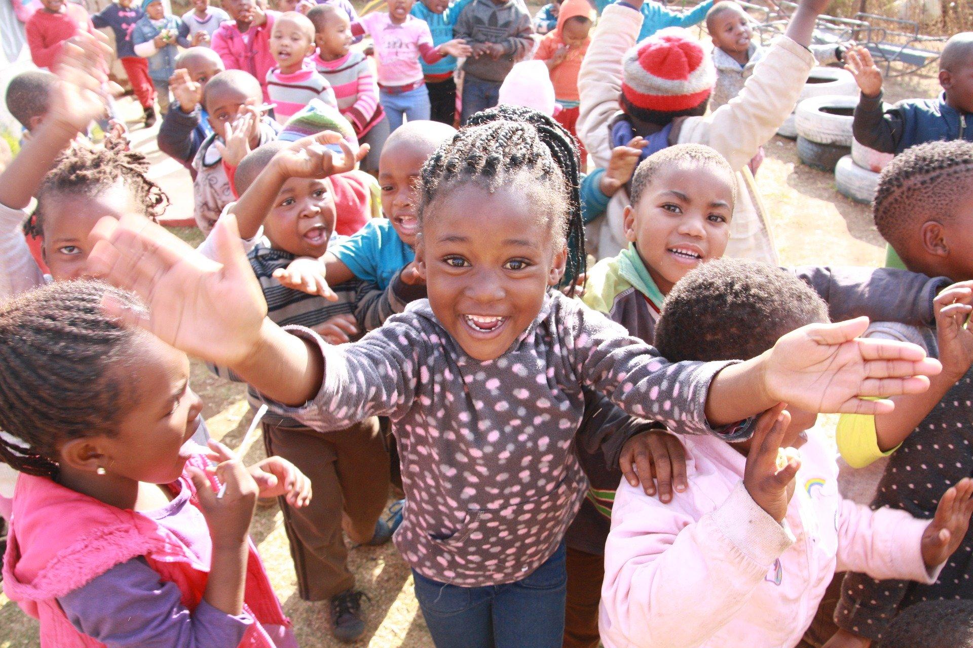 Festive season in Soweto, Children Excited